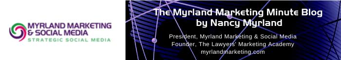 Nancy Myrland - Myrland Marketing & Social Media