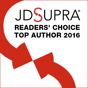 JD Supra Readers Choice Top Author 2016