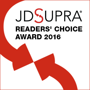 JD Supra Readers Choice Award 2016